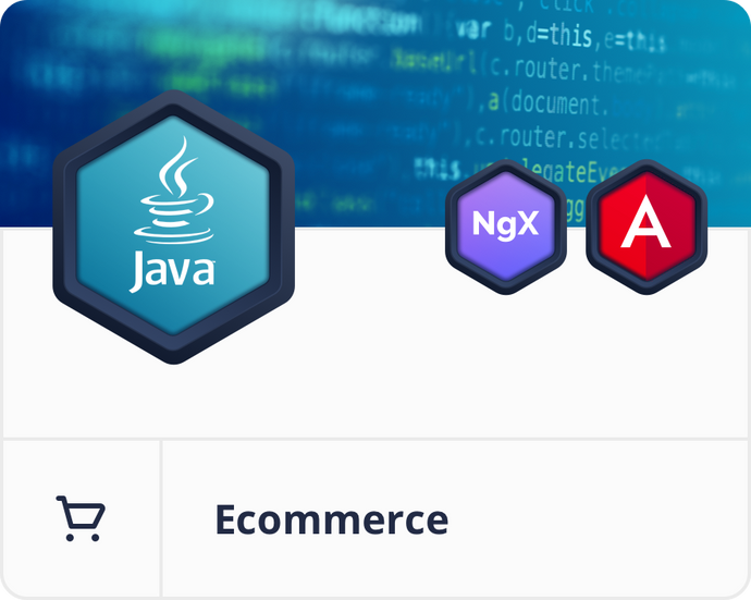 Angular Java/Spring E-Commerce Dashboard