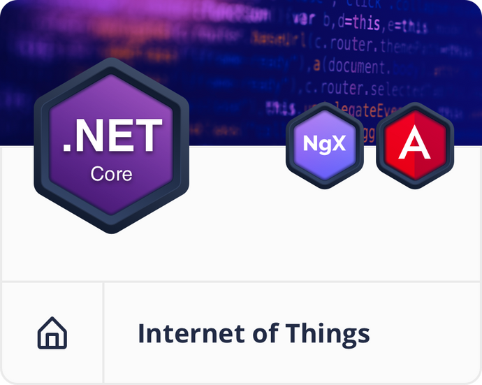 Angular .NET Core IoT Dashboard