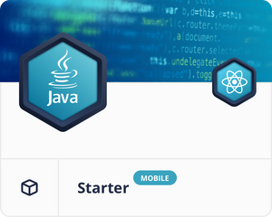 React Native Java Mobile Starter Dashboard