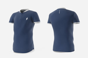 Henley (navy/white)