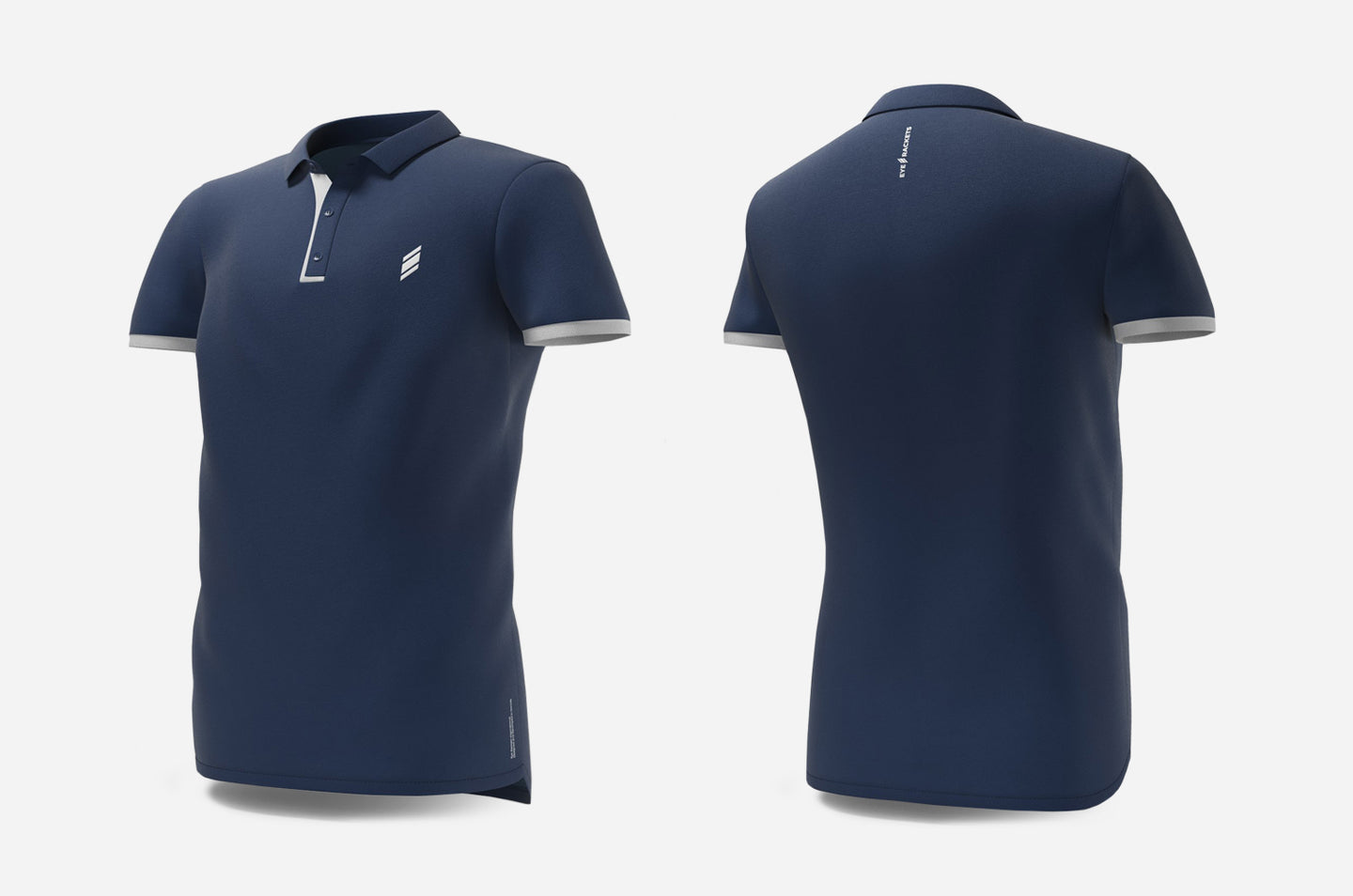 Polo (navy/white)
