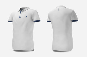 Polo (white/navy)