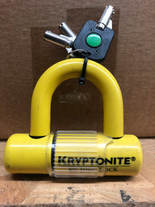 EV Disc Lock Yellow