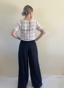 Whimsic Pant in Black (Made to Order)
