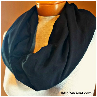 ease neck pain with infinite relief scarf