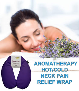 Microwavable Herbal Wraps for Neck Pain, Stress and Migraine Relief