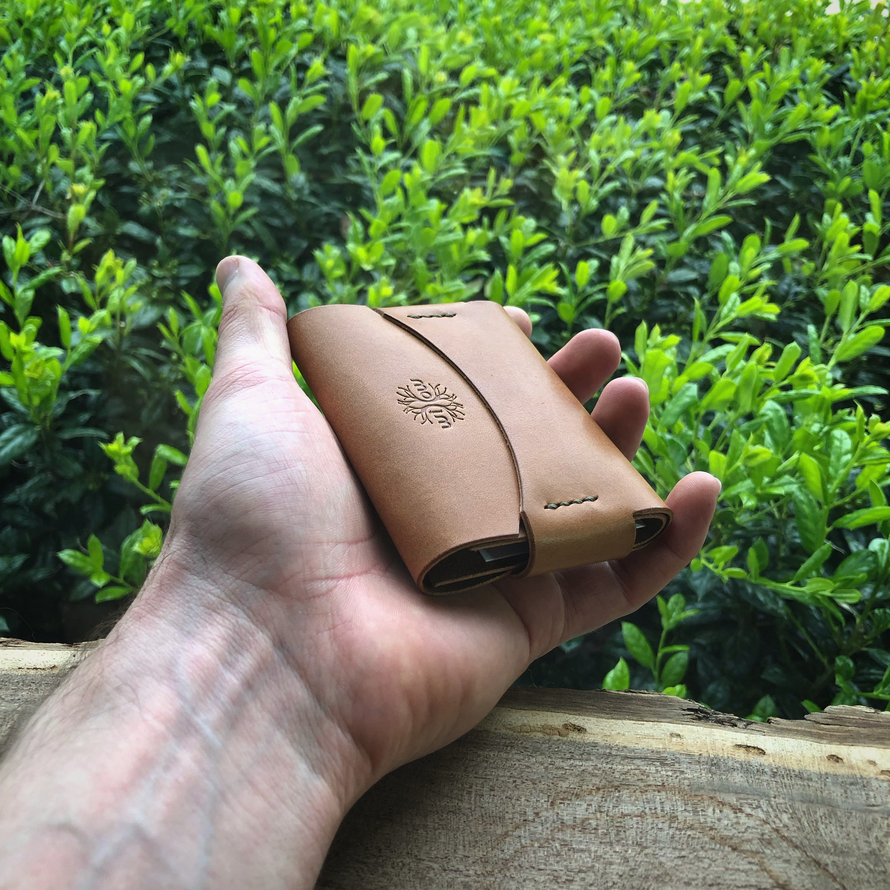 Opus Minimalist Wallet - Buck Brown