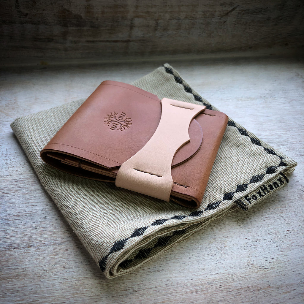 Luxe Wallet - Buck Brown & Natural