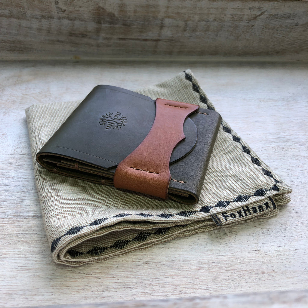 Luxe Wallet - Quick Access - Olive & Buck Brown