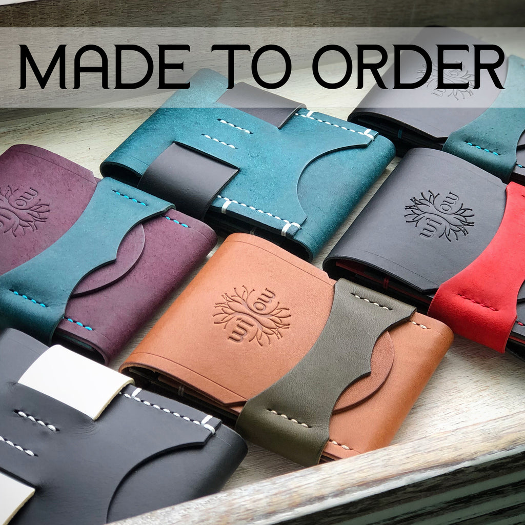 The Luxe Wallet - Quick Access - Made to Order