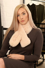 Load image into Gallery viewer, Plain Faux Fur Collar