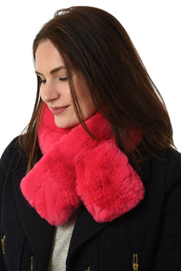 Plain Faux Fur Collar