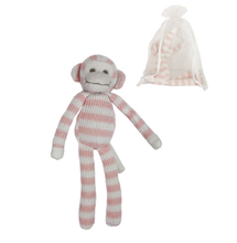 Load image into Gallery viewer, Gisela Graham Knitted Cotton Monkey.