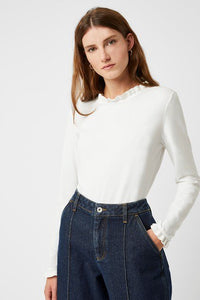 Great Plains Frill Detail Top