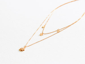Sienna Layered Stars Necklace