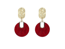 Load image into Gallery viewer, Gertrude Two Tone Resin Earrings