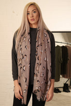 Load image into Gallery viewer, Small Leopard Print Scarf