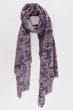 Load image into Gallery viewer, Coral Print Scarf