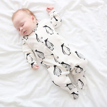 Load image into Gallery viewer, Fred & Noah Penguin Sleepsuit