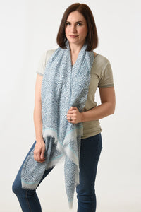 Abstract Speckle Scarf