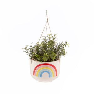 Chasing Rainbows Hanging Planter