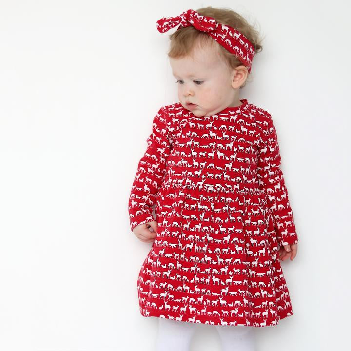 Fred & Noah Red Nordic Dress