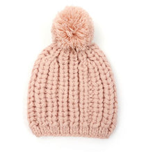 Load image into Gallery viewer, Chunky Knit Pom Pom Hat
