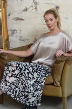 Load image into Gallery viewer, Amara Animal Print Pleated Skirt