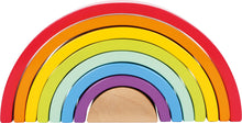 Load image into Gallery viewer, Wooden Rainbow Stacking Arch - Large