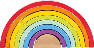 Wooden Rainbow Stacking Arch - Large
