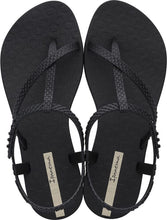 Load image into Gallery viewer, Ipanema Wish Sandal Black Snake