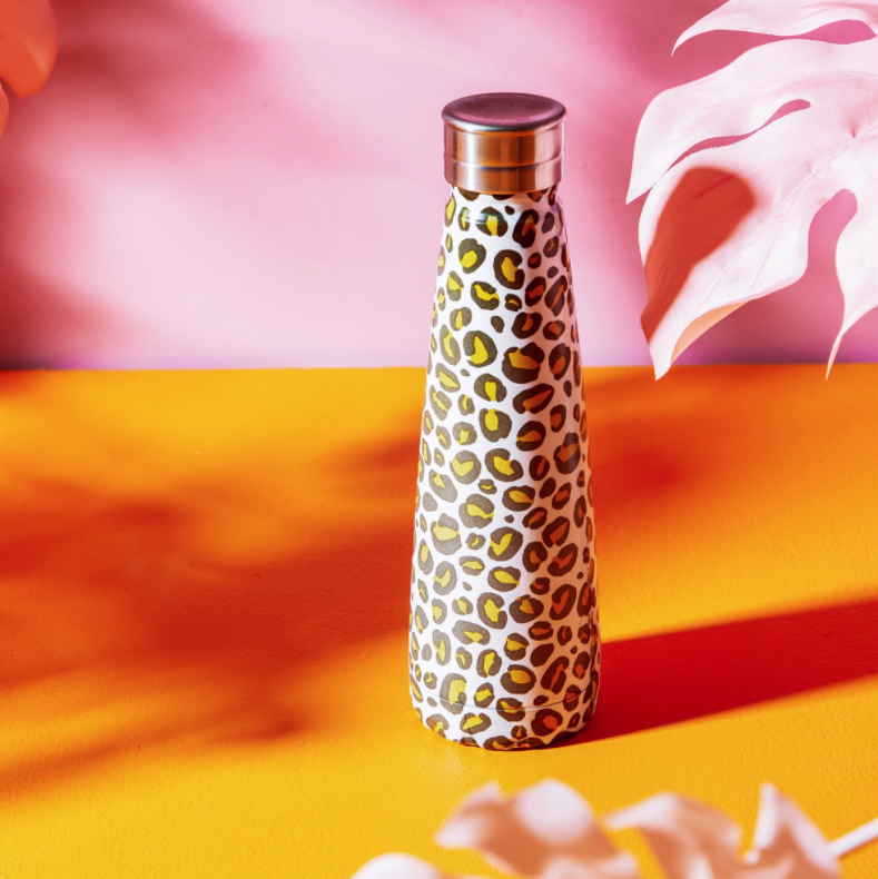 Leopard Love Water Bottle