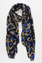 Load image into Gallery viewer, Silk Leopard Print Scarf