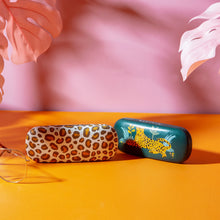Load image into Gallery viewer, Leopard Love Glasses Case