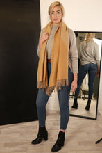 Load image into Gallery viewer, Two Tone Diagonal Scarf