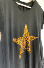 Load image into Gallery viewer, Amara Leopard Print Star Cotton Dress