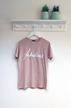 Load image into Gallery viewer, Chalk Darcey Cotton Slogan Tee - Fabulous