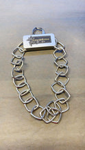 Load image into Gallery viewer, Silver Square Chain Link Necklace