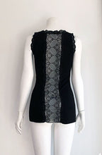 Load image into Gallery viewer, Elly Lace Panel Vest