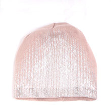 Load image into Gallery viewer, Metallic Shimmer Beanie Hat