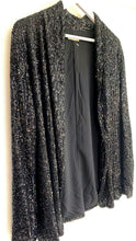 Load image into Gallery viewer, Iris Black Sequin Blazer