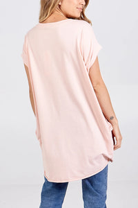 Camille Oversized Cotton Top