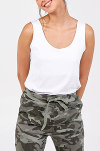 Tessa Scoop Neck Vest