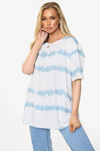 Load image into Gallery viewer, Adelaide Tie Dye Cotton & Linen Blend Top