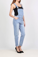 Load image into Gallery viewer, Sadie Slim Fit Denim Dungarees