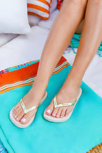Load image into Gallery viewer, Ipanema Glam Shimmer Flip Flop