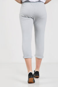 Tessa Plain Cotton Joggers