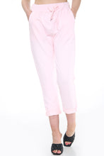 Load image into Gallery viewer, Tessa Plain Cotton Joggers