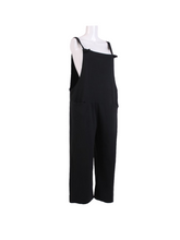 Load image into Gallery viewer, Tessie Cotton Jersey Dungarees