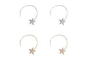 Vivianne Star Pull Through Hoops